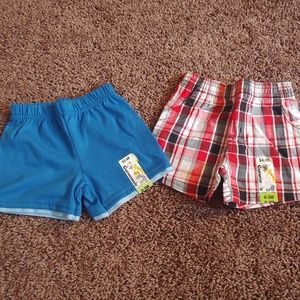 NWT garanimals infant shorts